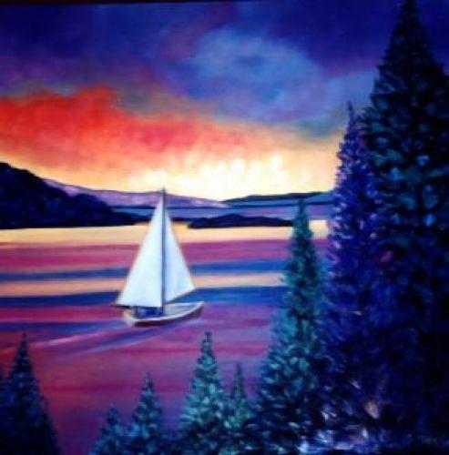 Sail at twilight !