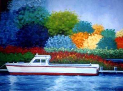 The Oka Ferry Boat Trawler!
