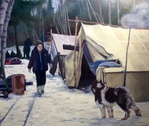 Campement autochtone