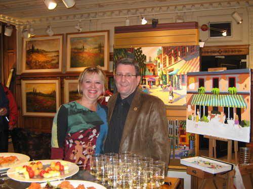2009 nuit de la peinture a la galerie royale de qu u00e9bec