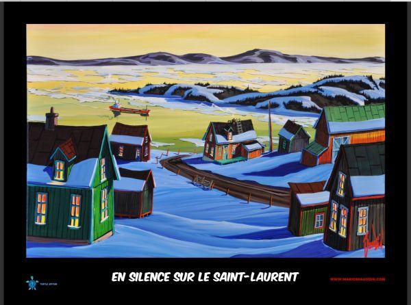 En silence sur le St.-Laurent