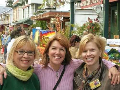 Louise Marion, Lynn Garceau & Cathy Clavette