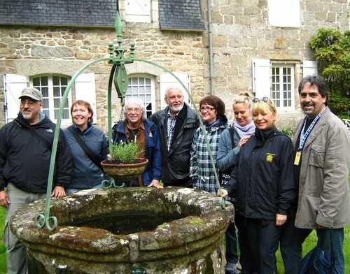 1.2009 Échange culturel entre Reves d'automne et Couleurs de Bretagne