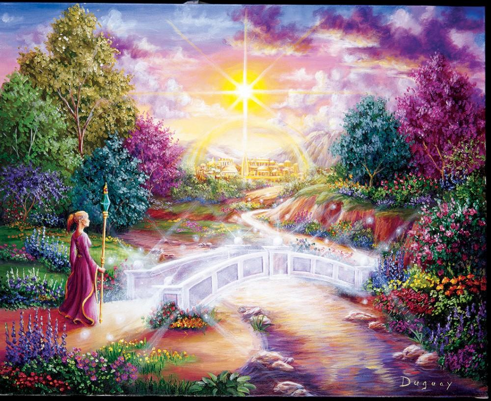 Le chemin de lumière