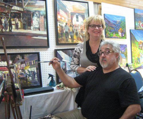 Louise Marion & Humberto Pinochet