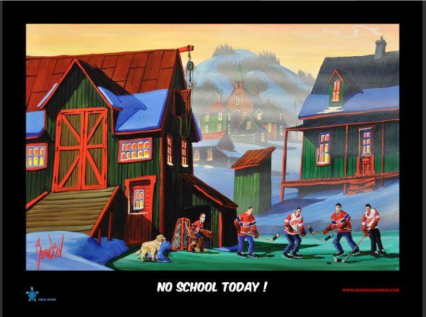NO SCHOOL TODAY