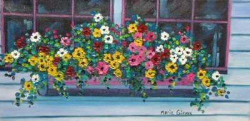 La boîte à fleurs!