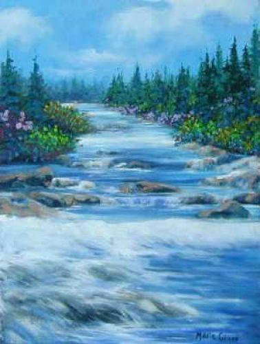La rivière blanche !