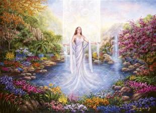 Reborn into the light