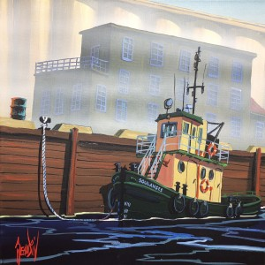 THE TUGBOAT OF BASSIN LOUISE