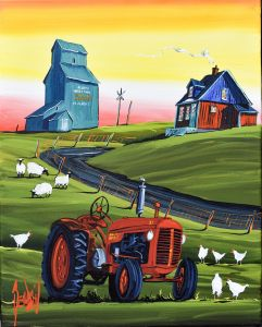 THOSE WERE THE DAYS -TRACTOR