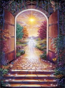 Une porte sur l'infinie