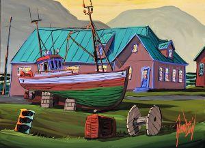 THE OLD SHIPWARD OF SEYDISFJORDUR