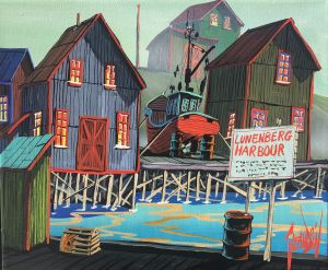 THE LUNENBURG HARBOUR