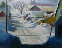 À l'entrée du village, St-Hilarion
