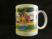 tasse en porcelaine (modèle été)