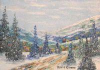 Snowy valley!