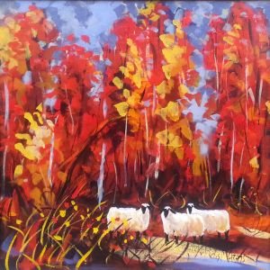 Wild Autumn 24 x 24 Available