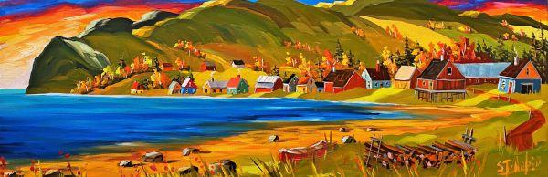 Tricoté serré, Gaspésie