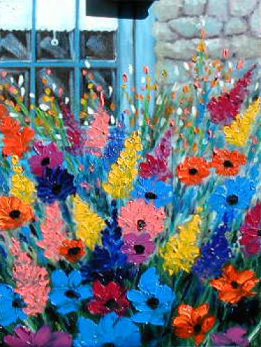 Des fleurs à profusion!