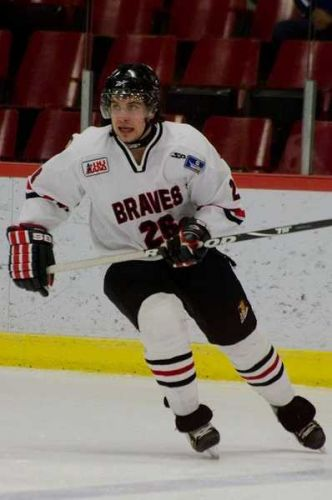 Mon fils Maxime Junior AAA Braves de Valleyfield