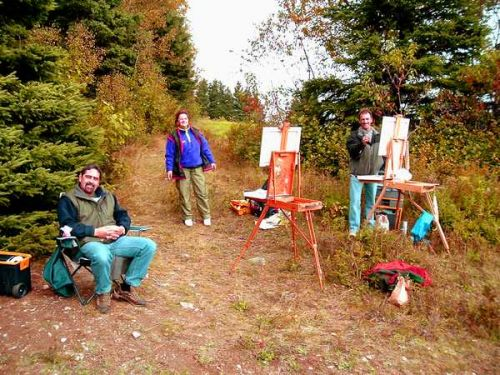 Peinture dans Charlevoix