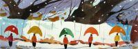 Les parapluies de la neige