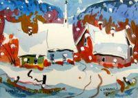 Kinnear's Mills sous la neige
