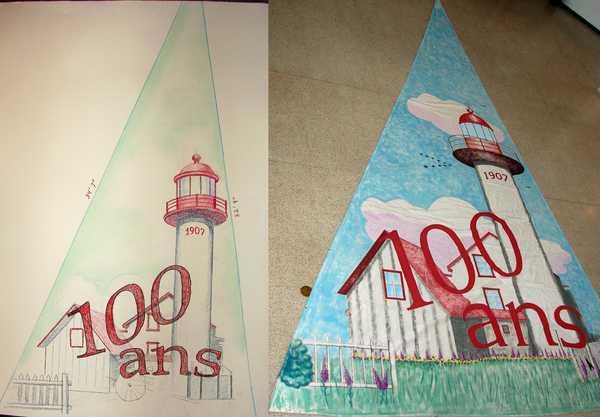 Projet spécial:  La voile du phare de Matane