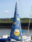Painted sail !